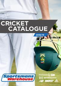 Sportsmans Warehouse : Cricket Catalogue (11 Sep - While Stock Last)