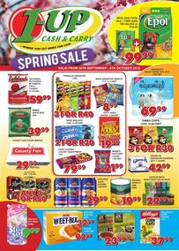 1 Up Cash And Carry : Spring Sale (20 Sep - 08 Oct 2018)
