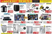 Tafelberg Furnishers Western Cape : Knockout Deals (21 Sep - 24 Sep 2018)