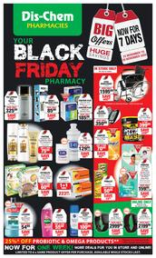Dis-Chem : Your Black Friday Pharmacy (23 Nov - 29 November 2020)