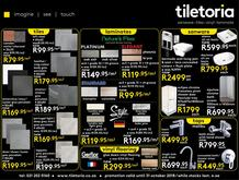 Tiletoria (11 Oct - 31 Oct 2018)