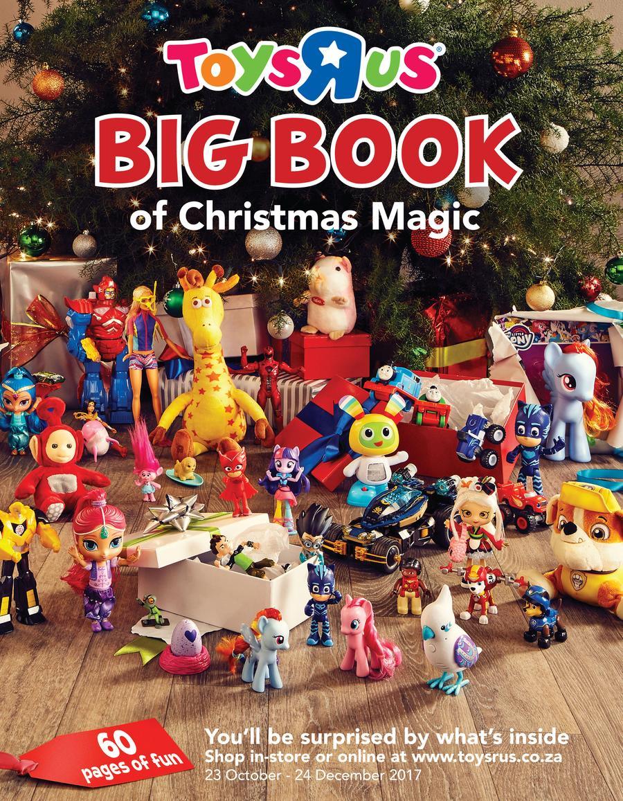 toys r us big book of christmas magic 23 oct 24 dec 2017