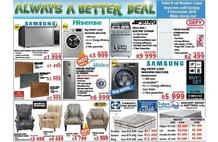 Tafelberg Furnishers : Always A Better Deal (29 Nov - 09 Dec 2018 While Stocks Last)