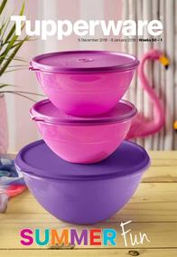Tupperware (05 Dec - 08 Jan 2019)
