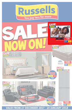 Russells : Big Sale (27 Dec 2017 - 20 Jan 2018), page 1