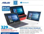 Asus E402 Colours Notebook-On 3GB Data price Plan