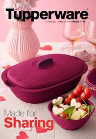 Tupperware (13 Feb - 12 Mar 2019)