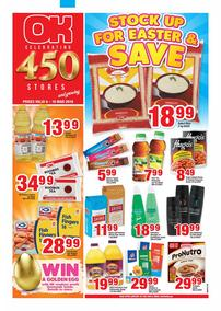 OK Foods Western Cape : Stock Up For Easter & Save (6 Mar - 10 Mar 2019)