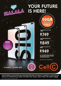 Cell C (14 Mar - 24 Apr 2019)