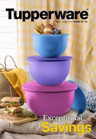 Tupperware (10 Apr - 07 May 2019)