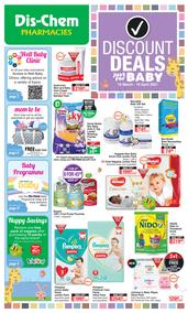 Dis-Chem : Discount Deals Just For Baby (19 March - 18 April 2021)
