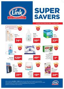 Link Pharmacy (26 Apr - 12 May 2019)