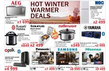 Tafelberg Furnishers Western Cape : Hot Winter Warmer Deals (20 May - 26 May 2019)