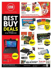 CNA : Best Buy Deals (23 Jul - 19 Aug 2019)