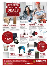 Brights Hardware : Winter Deals (26 Jul - 31 Aug 2019)