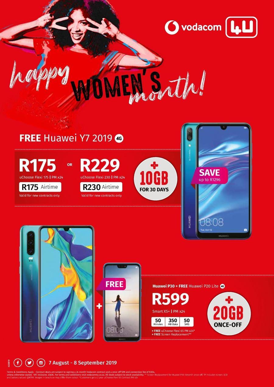 Vodacom 4u 07 Aug 08 Sep 2019 Www Guzzle Co Za