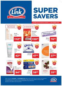 Link Pharmacy : Super Save (28 Aug - 11 Sep 2019)