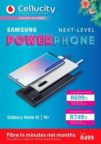 Cellucity : Power Phone (07 Sep - 06 Oct 2019)