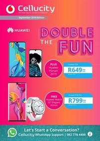 Cellucity : Double The Fun (09 Sep - 06 Oct 2019)