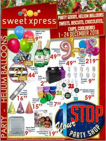 Sweet Xpress (01 Dec - 24 Dec 2018)