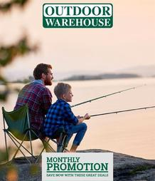 Outdoor Warehouse (24 Oct 2019 - While Stocks Last)