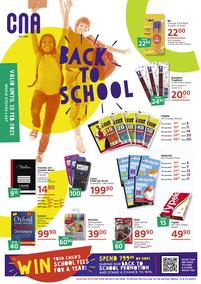 CNA : Back To School (30 November - 15 February 2021)
