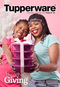 Tupperware : The Gift Of Giving (06 Nov - 03 Dec 2019)