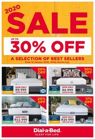 Dial-A-Bed : Sale! (30 Dec 2019 - While Stocks Last)