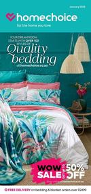 Home Choice : Quality Bedding (03 Jan 2020 - While Stocks Last)