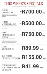 Excellent Meat Market (16 May - 19 May 2019 While Stocks Last)