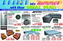 Tafelberg Furnishers Western Cape : Great Deals (23 Jan - 26 Jan 2020)