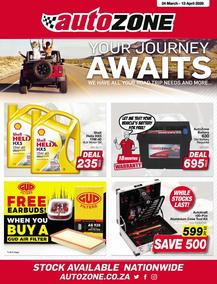 Auto Zone : Your Journey Awaits (24 March - 13 April 2020)