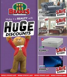Beares : Huge Discounts (05 April - 24 May 2020)