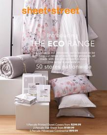 Sheet Street : The ECO Range (01 June 2020 - While Stocks Last)