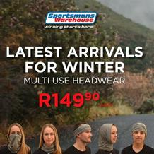 Sportsmans Warehouse : Latest Arrivals For Winter (Request Valid Dates From Retailer)