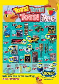 The Crazy Store : Toys!Toys!Toys! (24 August - 27 September 2020)