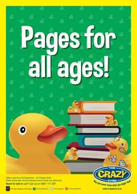 The Crazy Store : Pages For All Ages! (28 September - 24 October 2020)