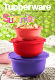 Tupperware : Reasons To Love Summer (02 October - 03 November 2020)