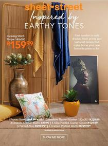 Sheet Street : Earthy Tones (Request Valid Dates From Retailer)