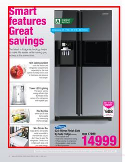 Special Samsung 524l Mirror Finish Side By Side Fridge Rs21hflmr