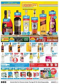 Liquor City : Promotion (02 November - 06 November 2020)