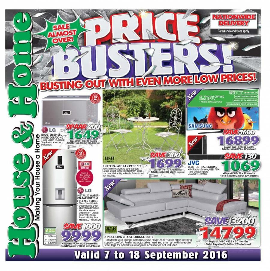 Captain Jack Lounge Stoel.House Home Price Busters 07 Sep 18 Sep 2016 M Guzzle Co Za