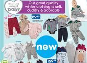 Clicks Made 4 Baby Winter Baby Clothing-Each