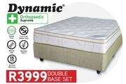 Dynamic Orthopaedic Supreme Queen Base Set