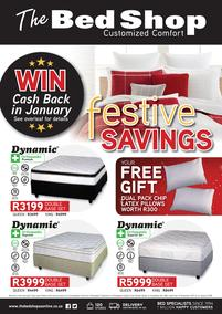 The Bed Shop : Festive Savings (17 Nov 2017 - 14 Jan 2018)
