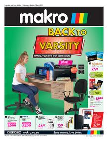 Makro : Back To Varsity (02 February - 01 March 2021)