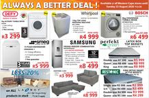 Tafelberg Furnishers : Always A Better Deal (17 August - 23 August 2020 While Stocks Last)