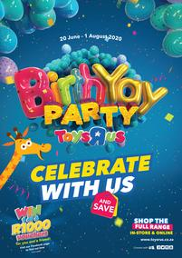 Toys R Us : Birthday Party (20 June - 01 August 2020)
