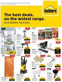 Builders WC & PE : The Best Deals On The Widest Range (20 Aug - 15 Sept 2019)