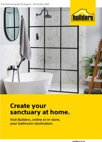 Builders : Create Your Sanctuary At Home (25 August - 19 October 2020)